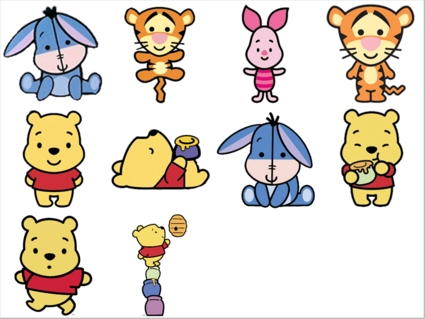 BrillKids Forum - Disney Cuties- Pooh - .:Early Learning Community:.